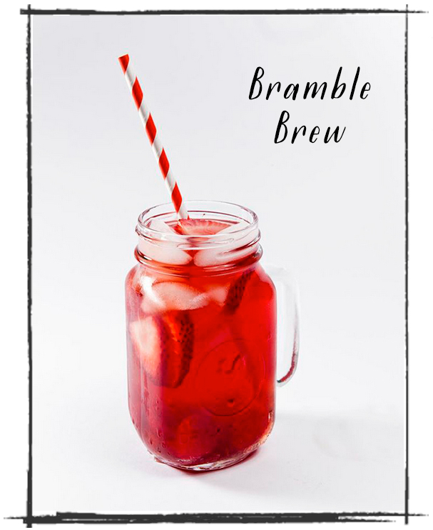 Recipe: Owl's Brew Bramble Brew Cocktail | SavoryPantryBlog.com
