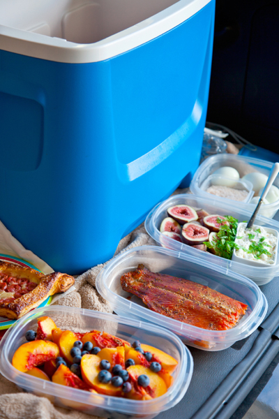 Tailgating Tips | How to Pack a Cooler | SavoryPantryBlog.com