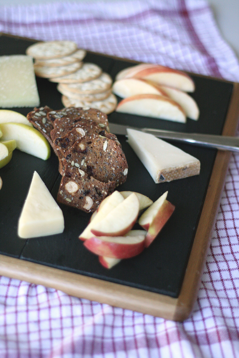 Easy Entertaining: Apple & Cheese Board | SavoryPantryBlog.com