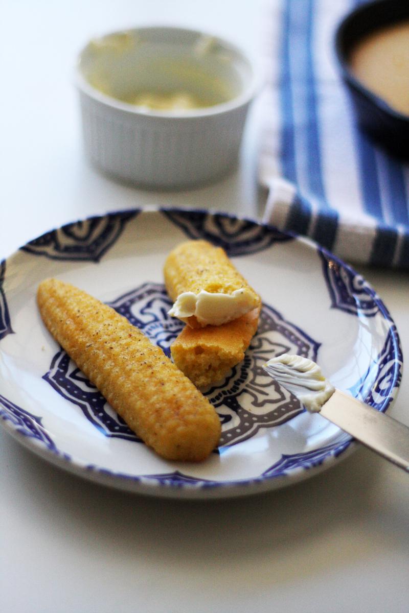 Recipe: Truffle Salted Cornbread | SavoryPantryBlog.com