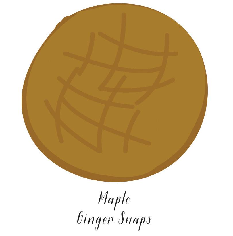 Maple Ginger Snaps  //  SavoryPantryBlog.com