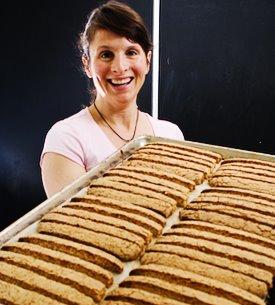 Gilda Doganiero of Gilda's Biscotti
