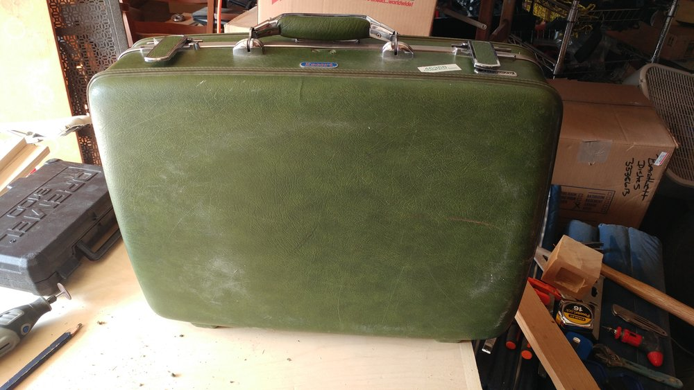 The original suit case