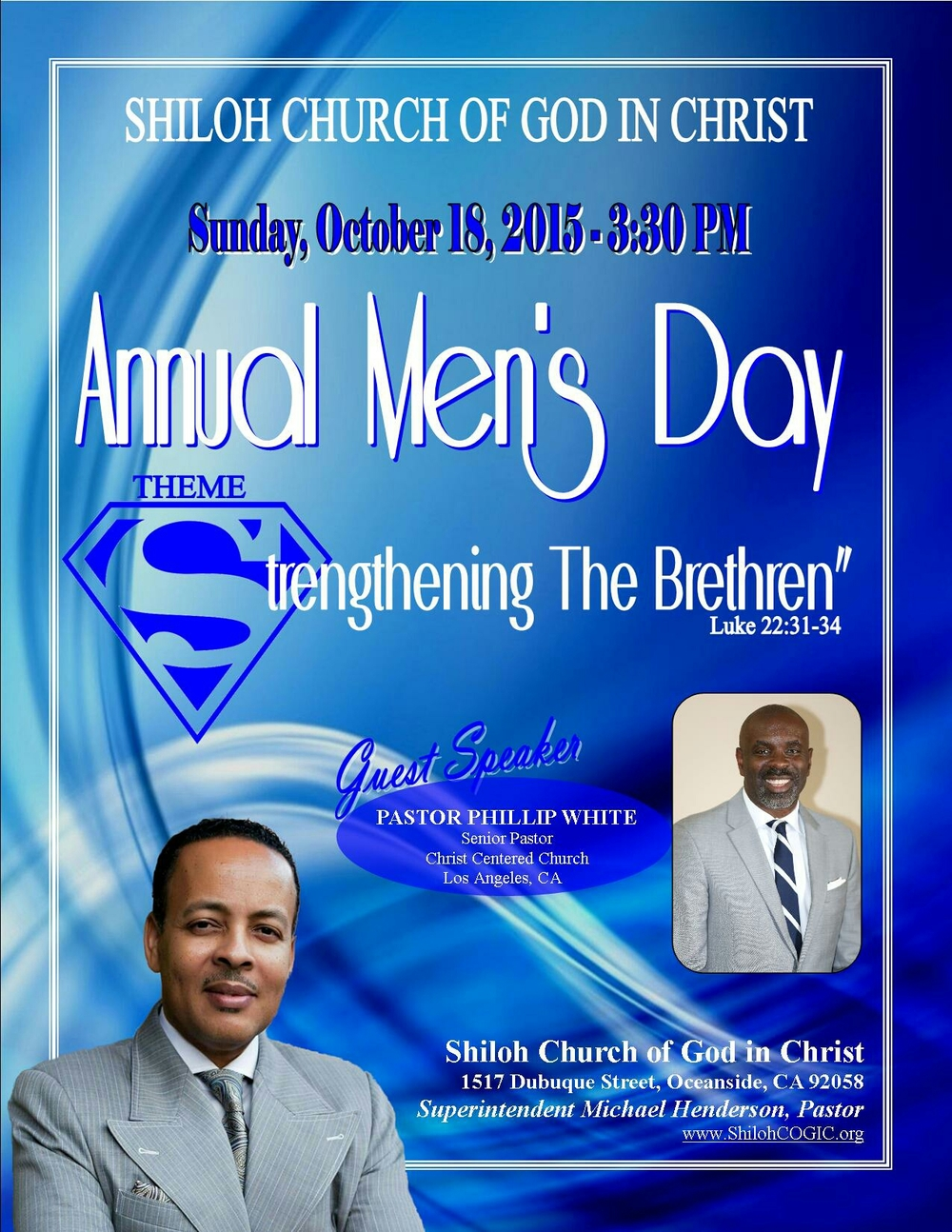 .             October Sunday 18th, 2015                        Free Event