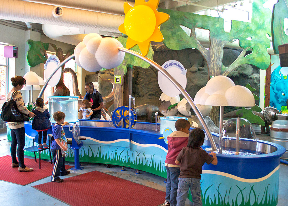 Children's Museum of Richmond Water Cycle Table