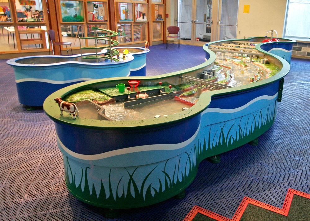 James River Water Play Boss Display