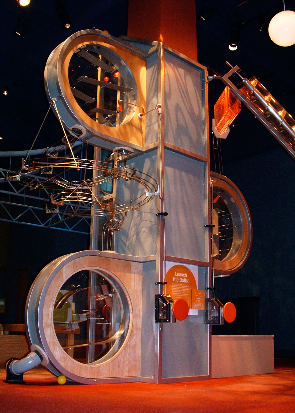 Liberty Science Ball Machine