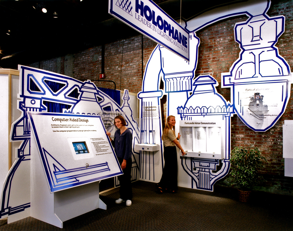 Holophane Interactive Exhibit