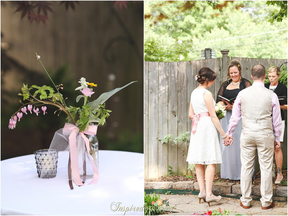 Inspired Photography // Backyard Wedding