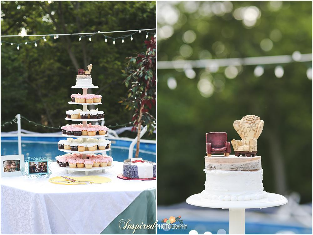St. Louis Backyard Wedding // www.inspiredphotographystl.com
