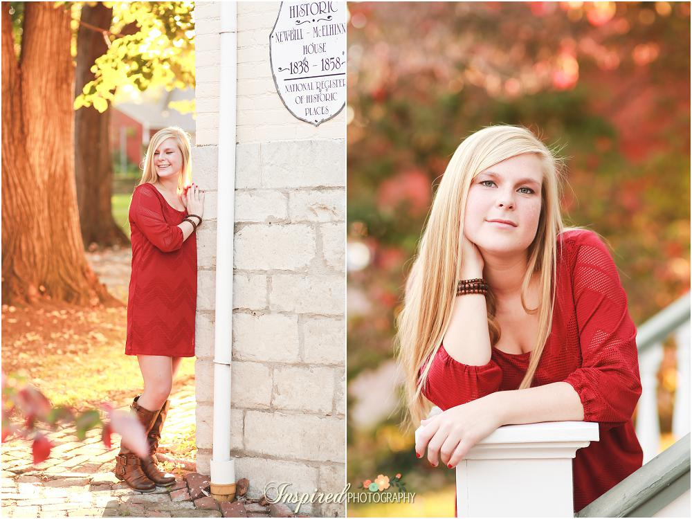 Senior Portrait Photography // www.inspiredphotographystl.com