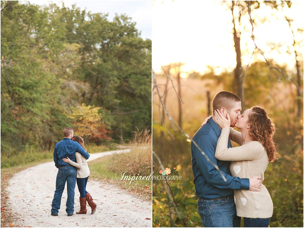 Shaw Nature Reserve Engagement Photography // www.inspiredphotographystl.com