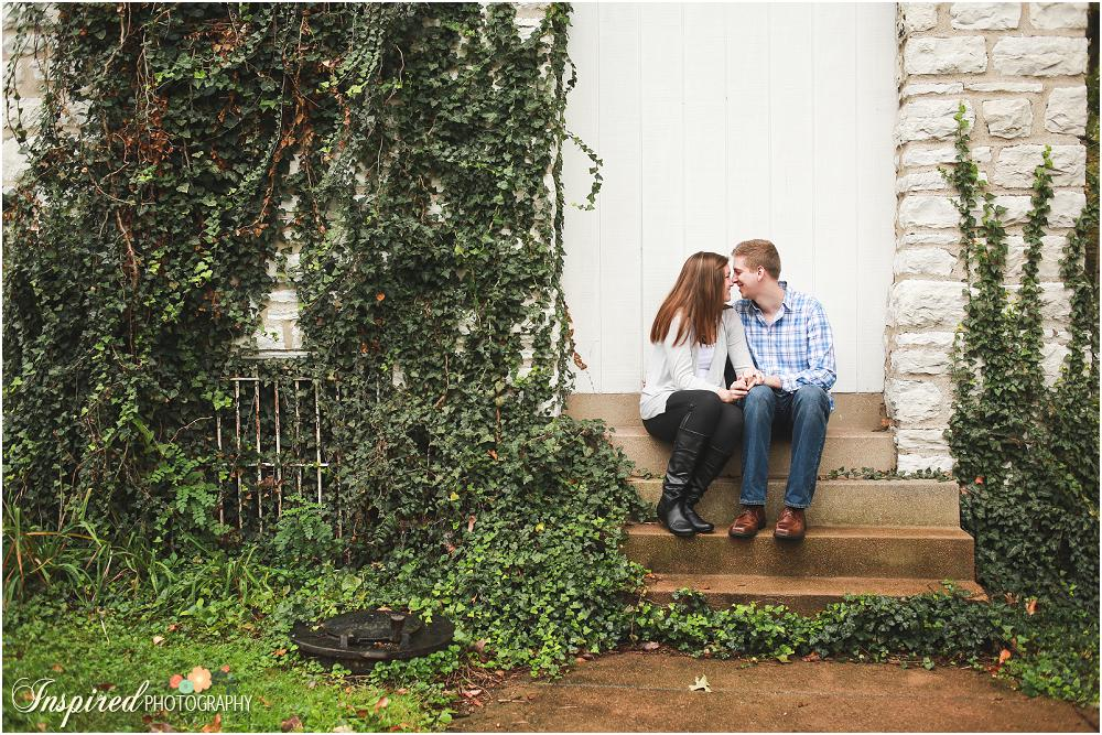 Engagement Photography // www.inspiredphotographystl.com
