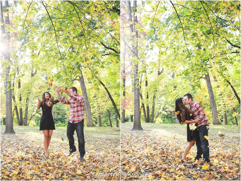 Creve Coeur Park Engagement Photography // www.inspiredphotographystl..com
