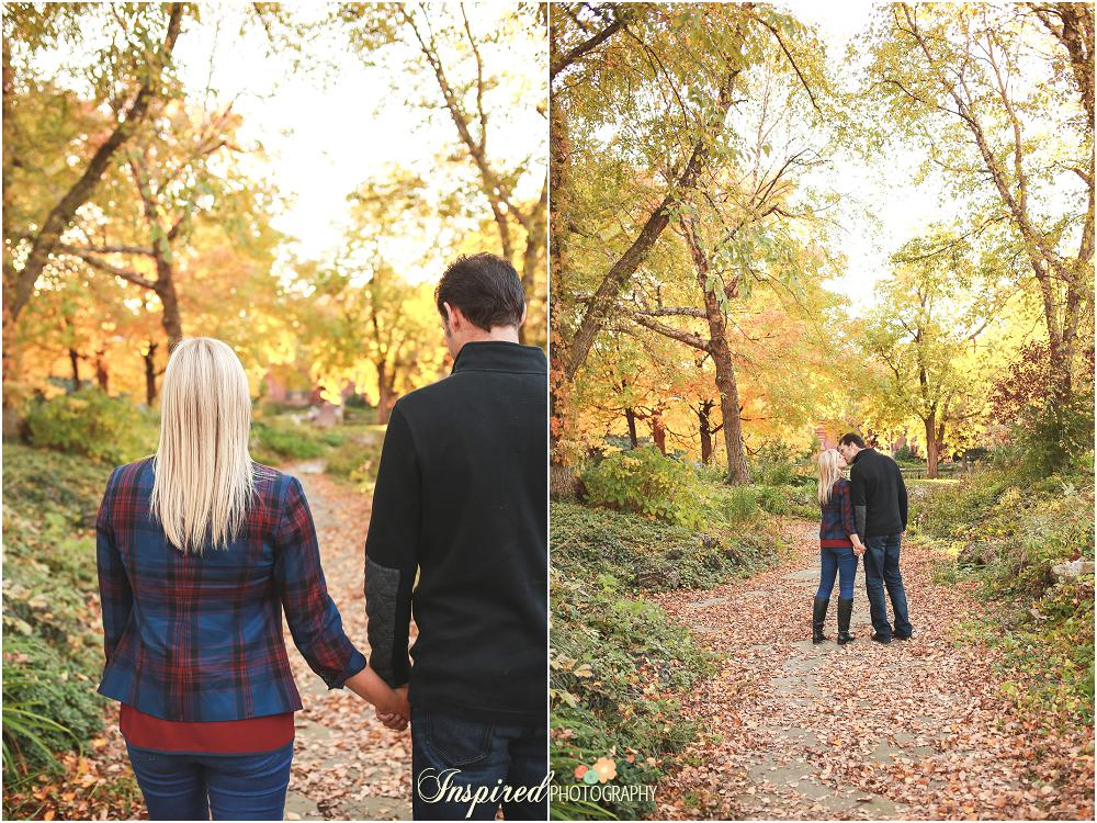 St. Louis Engagement Photography Lafayette Park // www.inspiredphotographystl.com