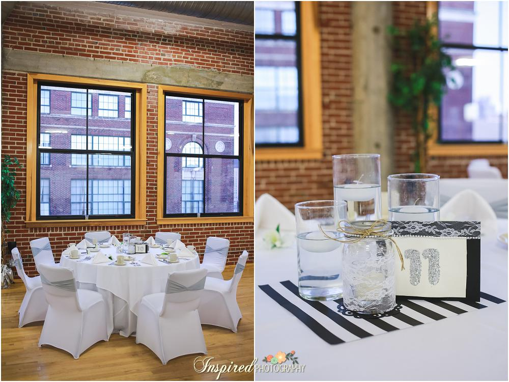 Windows On Washington Wedding, Downtown St. Louis, Reception Details // www.inspiredphotographystl.com