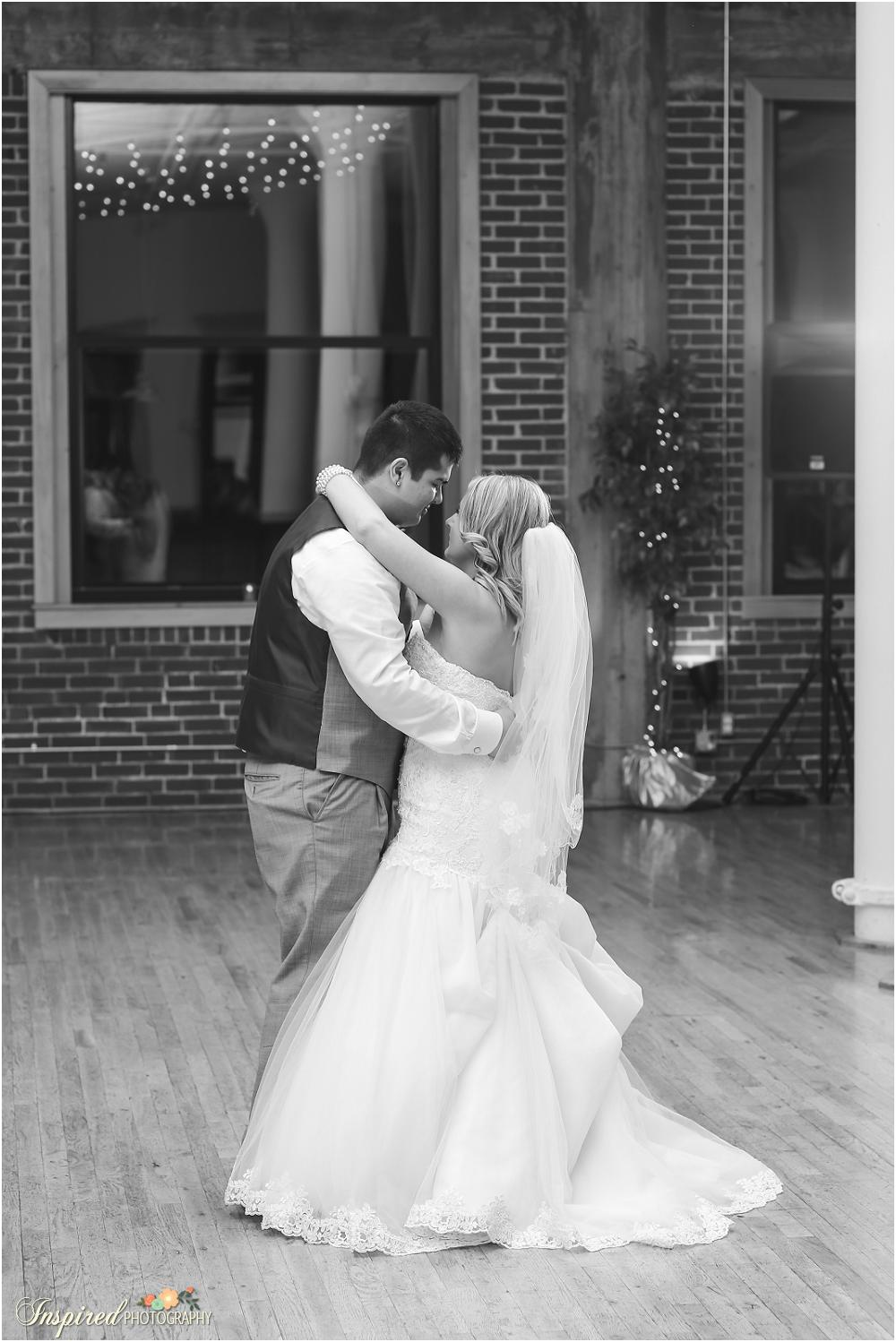 Windows On Washington Wedding, Downtown St. Louis, Reception Details, First Dance // www.inspiredphotographystl.com