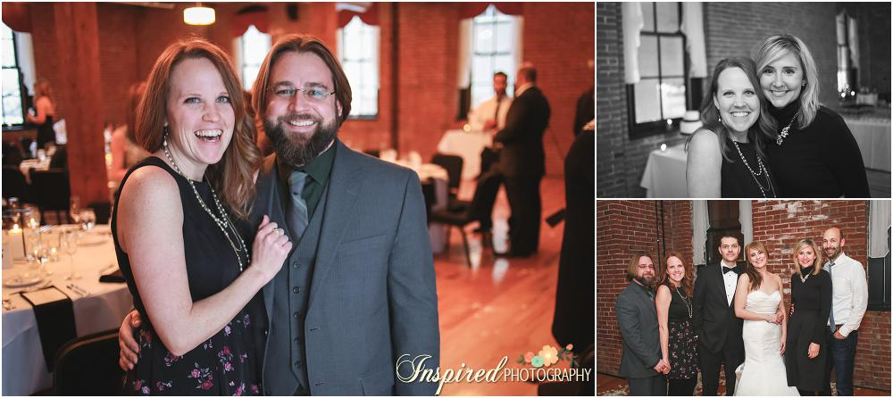 Downtown St. Louis Edmonds Space 15 Winter Wedding Photography // www.inspiredphotographystl.com