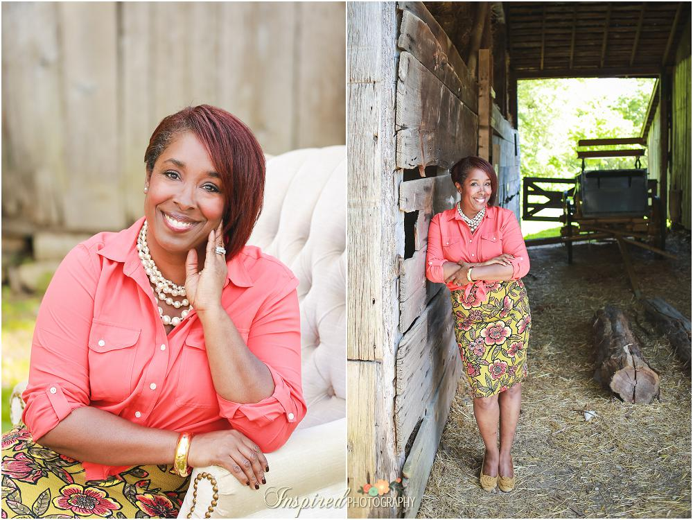 St. Louis Rustic Business Portrait Photography // www.inspiredphotographystl.com