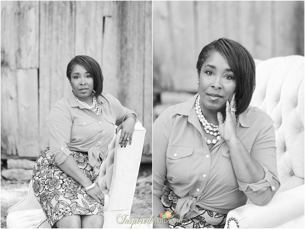 Rustic Classy Styled St. Louis Business Portrait Photography // www.inspiredphotographystl.com