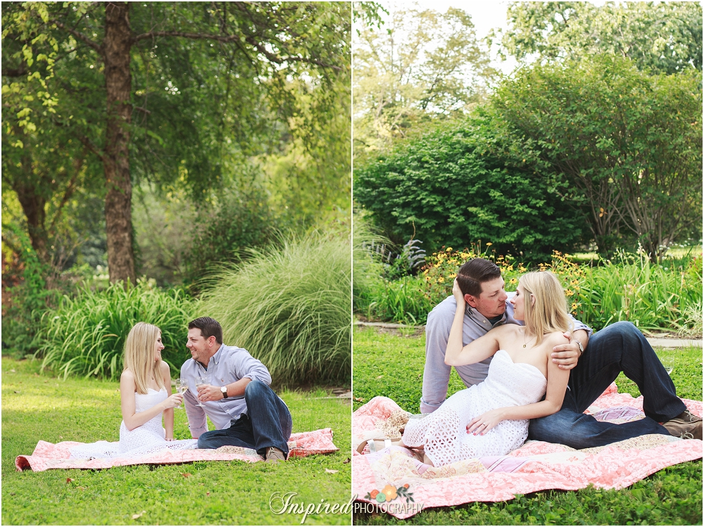 Summer Lafayette Park St. Louis Engagement Photography