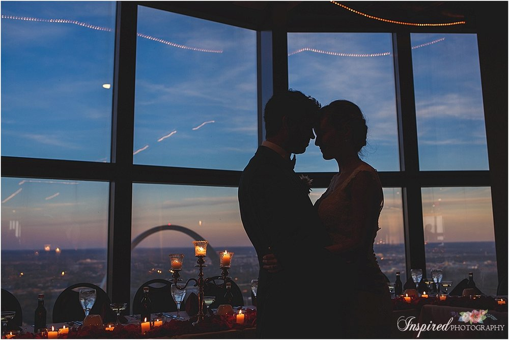 Kemolls Top of the Met St. Louis Wedding Photography // www.inspiredphotographystl.com