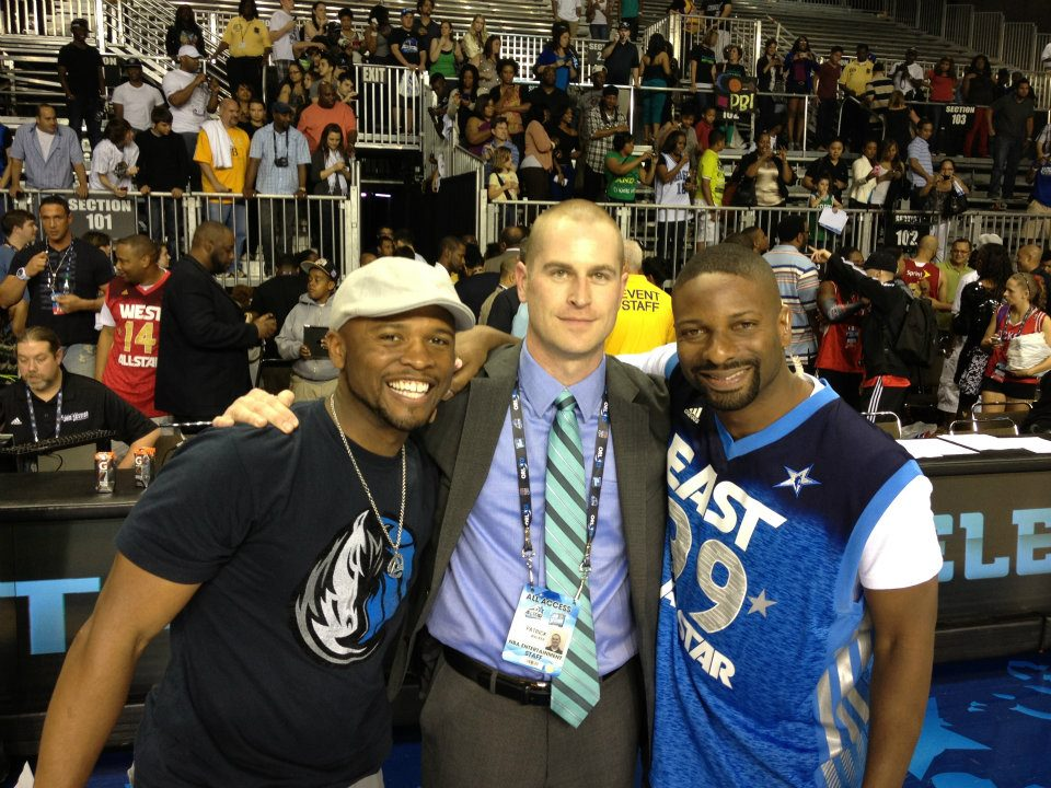 2012 NBA All-Star - Pat Walker DJ Irie & Ro Parrish.jpg