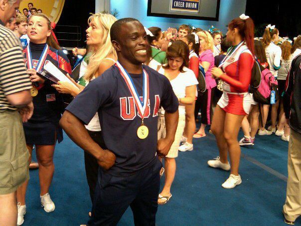 Ozell Williams has performed on the world's biggest stages as a member and coach of Team USA Cheer.