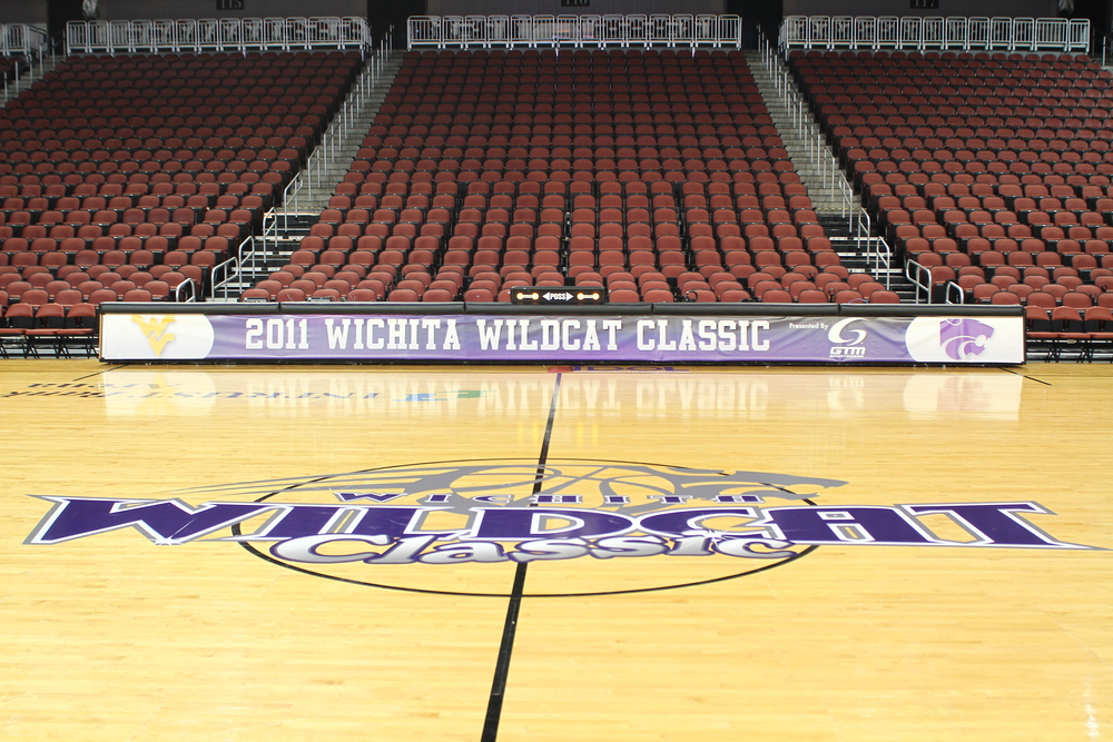 2011 Wichita Wildcat Classic Center Court & Scorer's Table.JPG