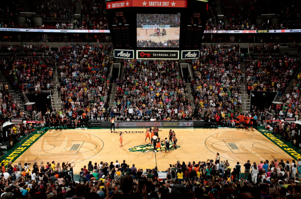Seattle turned out for WNBA All-Star 2017, KeyArena was lit from the jump.
