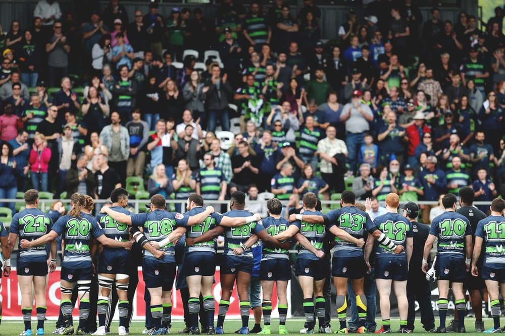 Even in an inaugural season, the Seattle Seawolves tout the best fanbase in the MLR.