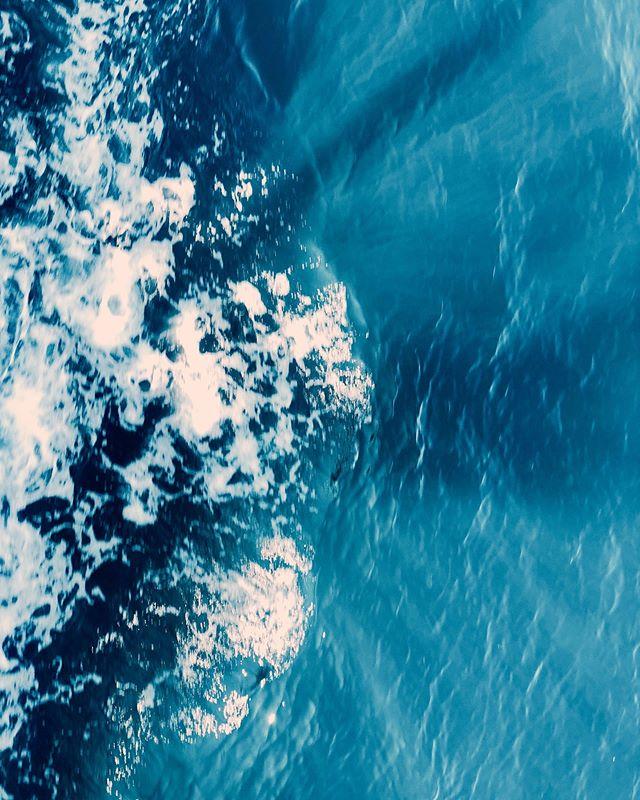 at sea 🌊