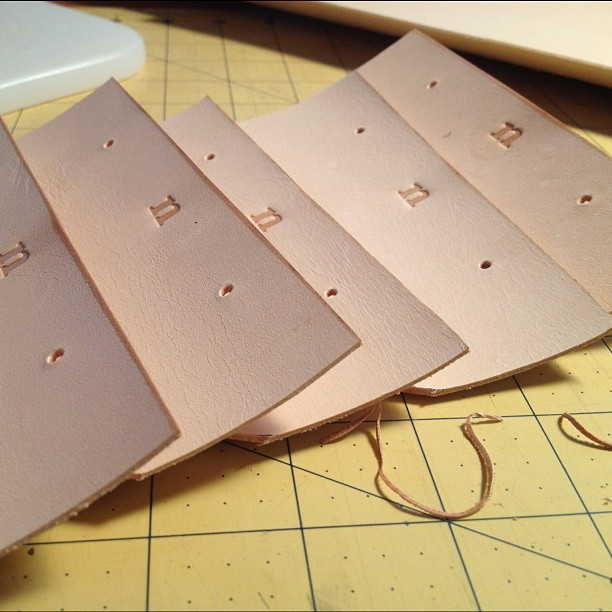 Making iPhone Wallets (Taken with Instagram)