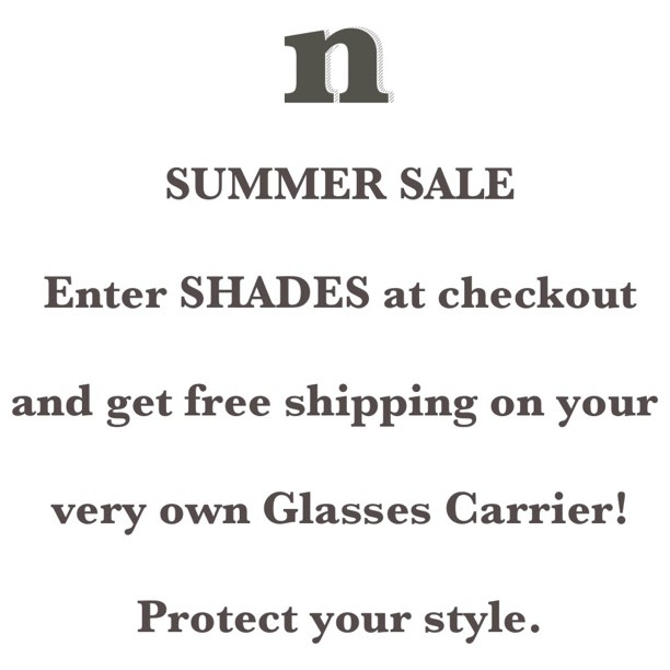 Summer Sale on Glasses Carrier!!! (Taken with Instagram)