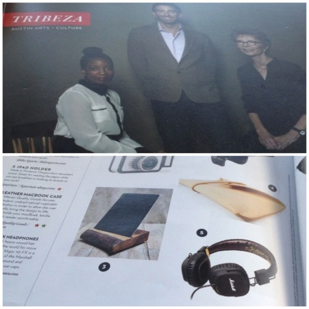@tribeza you really outdid yourself this time! Endless thanks! (at Noah Marion Quality Goods HQ)