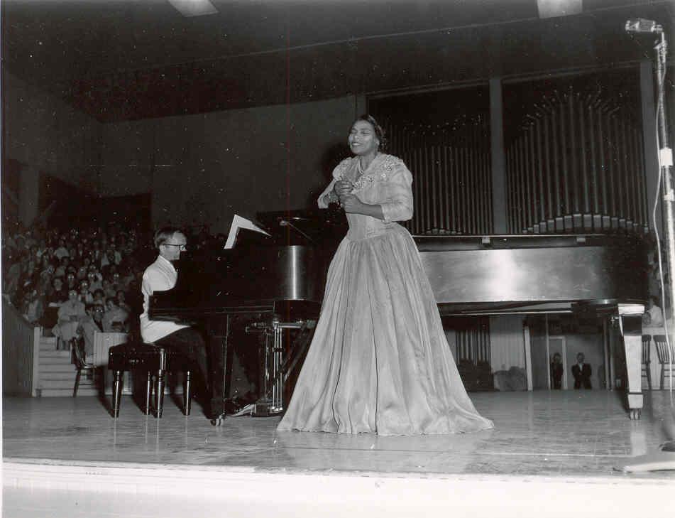 Marian Anderson, 1957