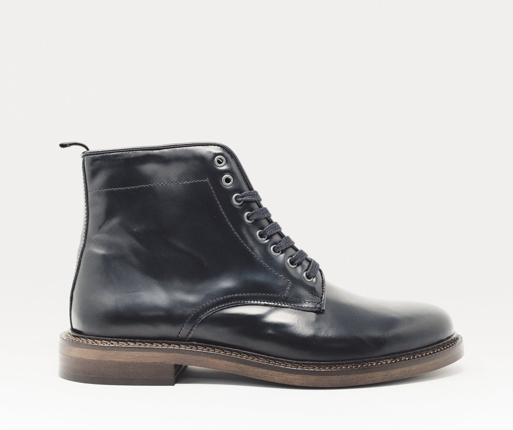 Darcy Lace Boot BLK - £90.00