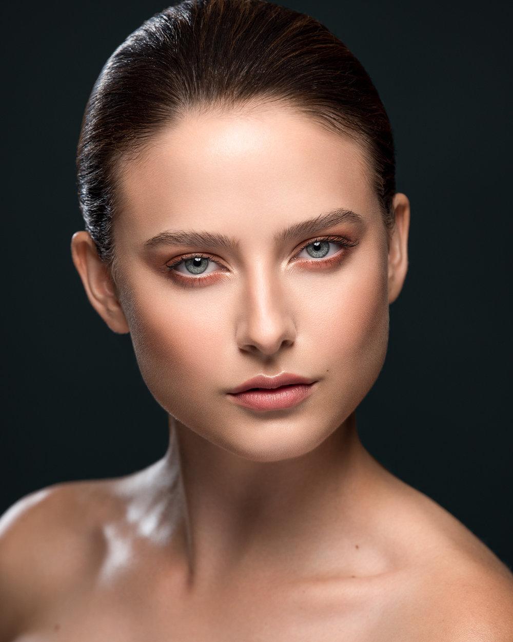 Model: Hannah Harrelson  Makeup: Erica Basha  Hair: Sarah Khan  Photo/retouch: Chris Langford