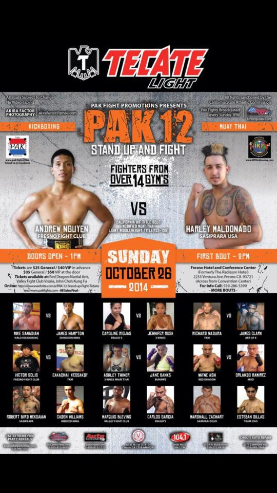 PAK 12 - Oct 28th