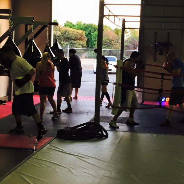 Boxing Class with Christian Espinoza