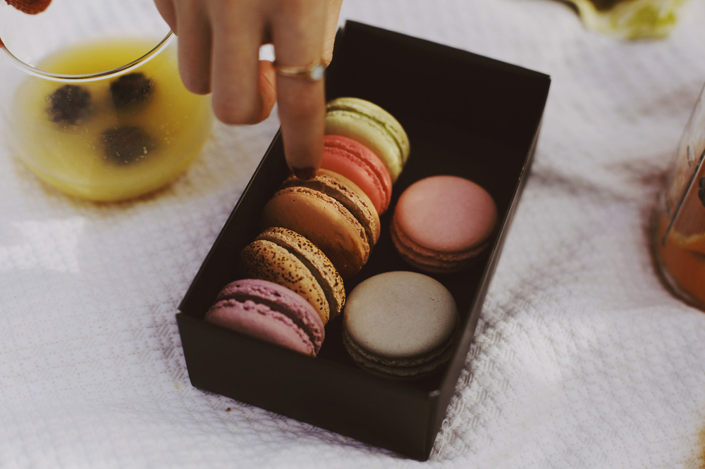 ain't a party without macarons.