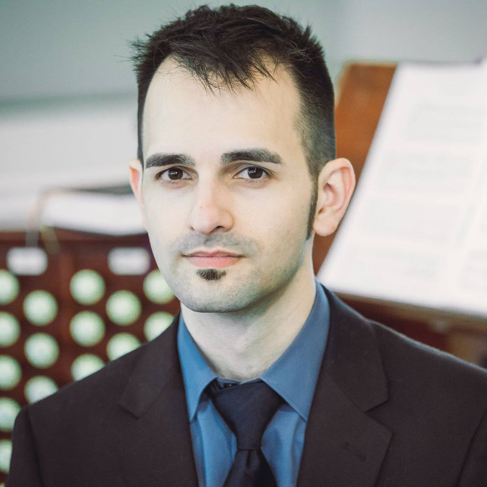 Alec Davis, Music Director & Organist