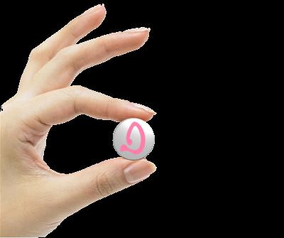white-deka-bluetooth-base-pink-logo