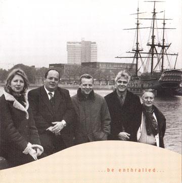 Lydia van Dam, Hans Mantel, Bart van Lier en John Engels. Foto Annemarie Fledderus