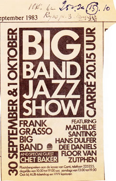 Big Band Show in Carre