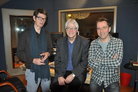 In Wedgeview Studio's (Foto B. Olthof)