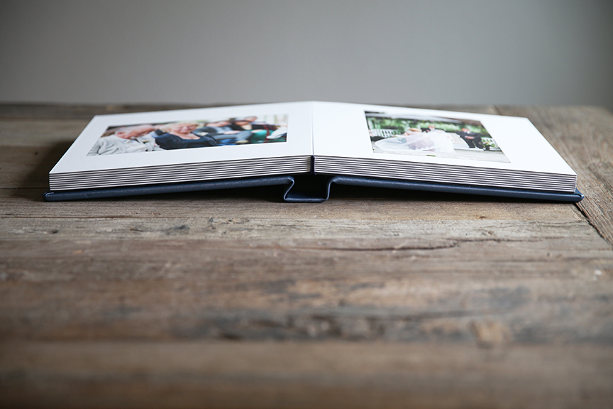 Our albums feature hand bound lay-flat bindings to ensure longevity and a stunning appearance.