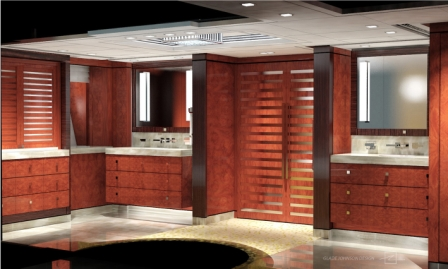Solemates II - The Master Bathroom Rendering