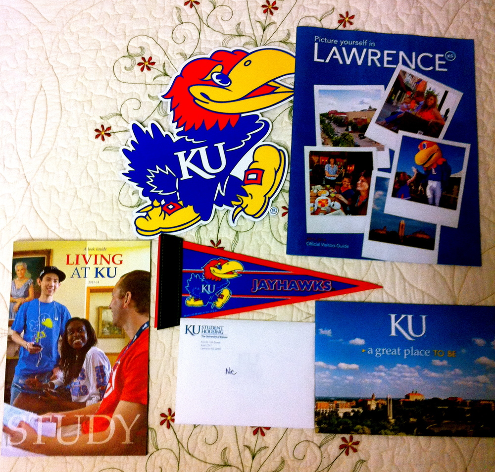 ROCK CHALK, JAYHAWK!!