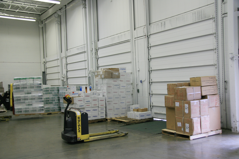 warehouse dock for fulfillment